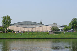 Manggha - Manggha Museum of Japanese Art and Technology, as seen from the Vistula river