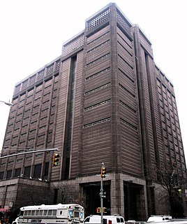 The Tombs Detention complex in Manhattan, New York