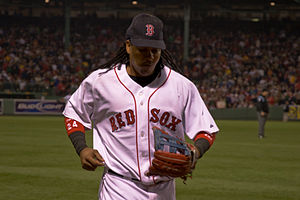 Manny Ramirez with Red Sox June 2007.jpg