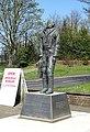 Manston Paul Seton statue Johnny 01.jpg