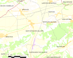 Map commune FR insee code 26330.png