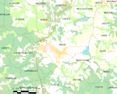 Map commune FR insee code 33036.png