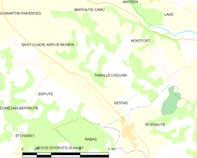Map commune FR insee code 64531.png