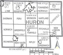 New London Ohio Map.New London Ohio Wikivisually