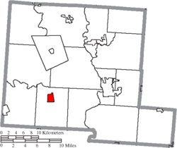 Location of Williamsport in Pickaway County