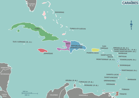 Map of the Caribbean (fr).png