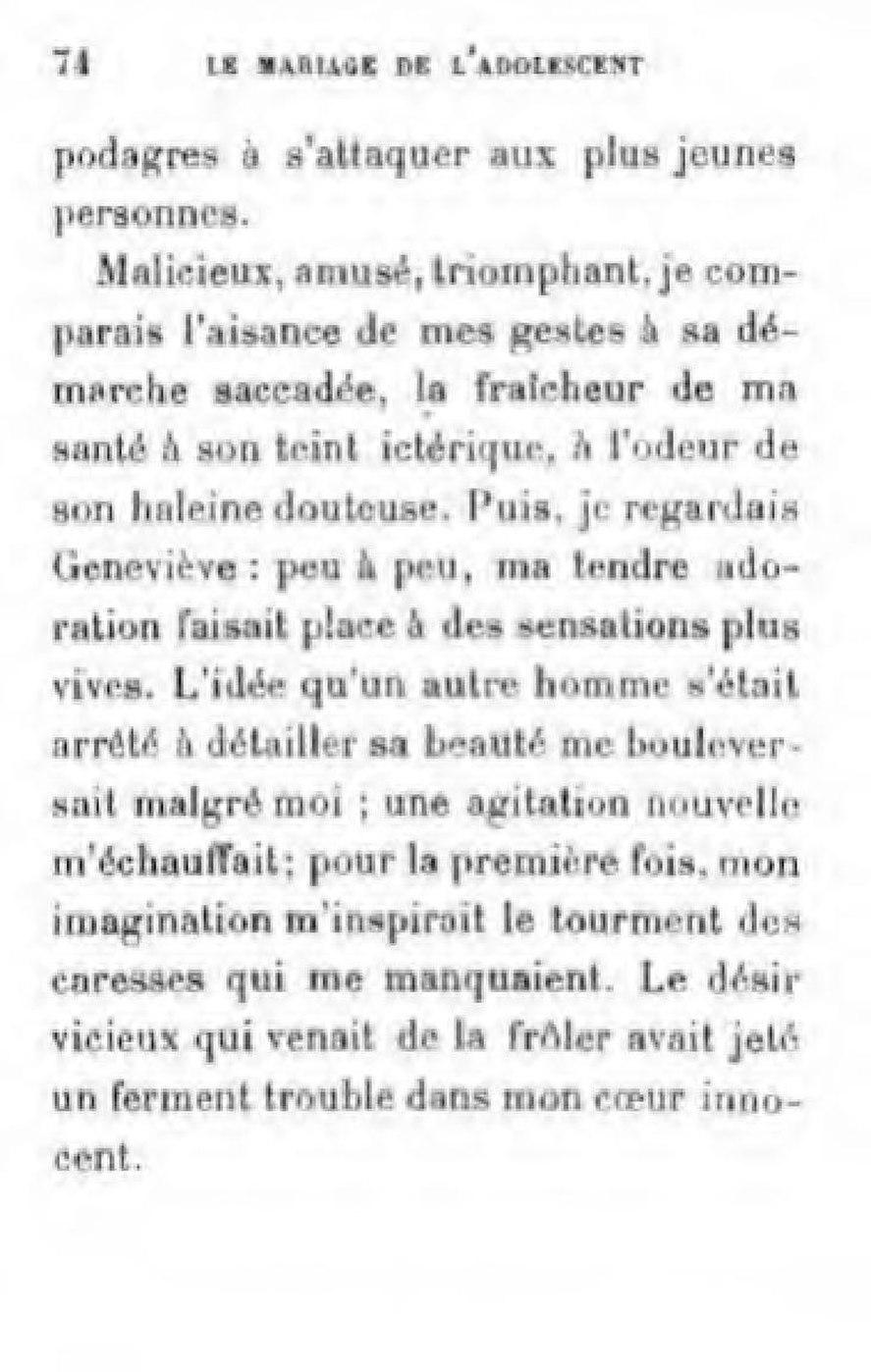 Page Marais Le Mariage De L Adolescent Pdf 110 Wikisource
