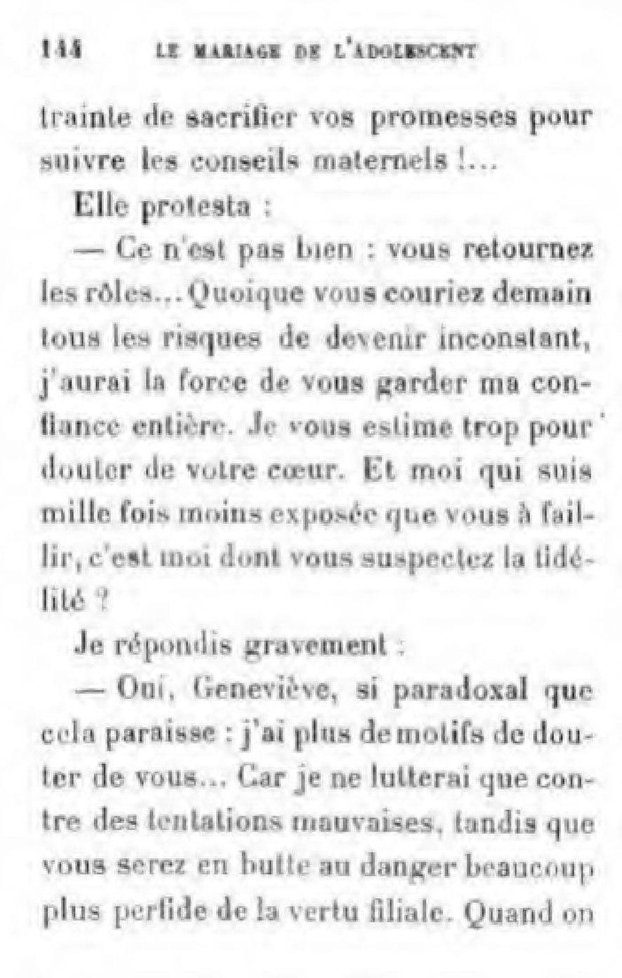 Page Marais Le Mariage De L Adolescent Pdf 180 Wikisource