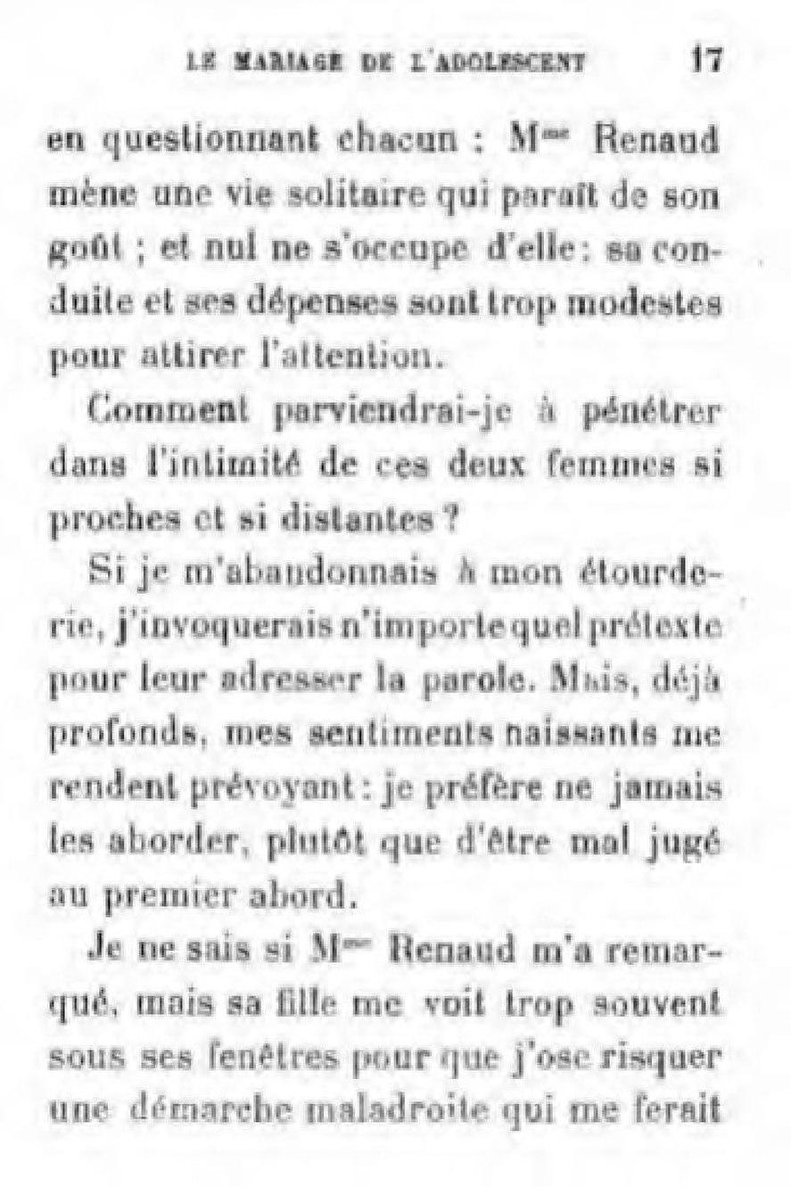 Page Marais Le Mariage De L Adolescent Pdf 53 Wikisource