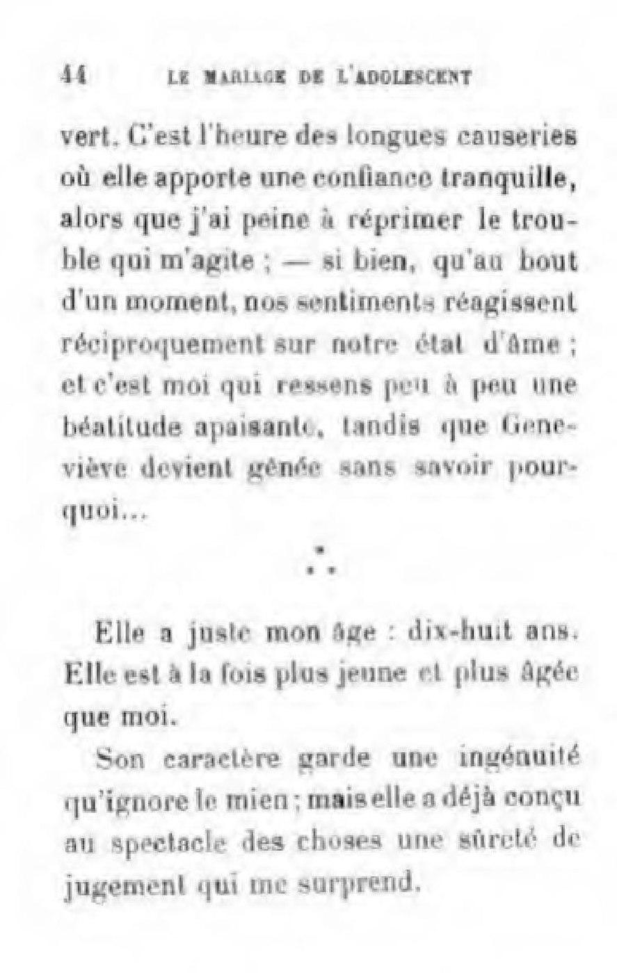 Page Marais Le Mariage De L Adolescent Pdf 80 Wikisource