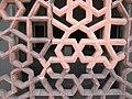 Marble mesh inside Humayun's tomb, Delhi 13.JPG