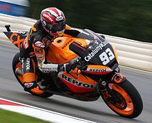 Marquez At The  Czech Republic Grand Prix