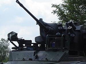 Rheinmetall Rh 202 - Rh 202 in the Marder turret