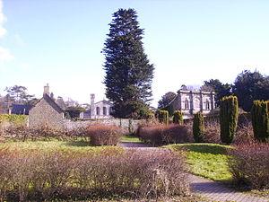 Margam Country Park - Image: Margam Park Orangery Gardens