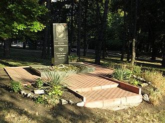 Vasily Margelov - Monument in Chișinău