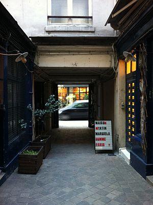 Maison Margiela - A Maison Martin Margiela store in Paris, France, 2012