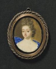Maria Aurora von Königsmarck (1662-1728), grevinna, tecknare