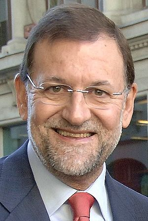 Spanish local elections, 2007 - Image: Mariano Rajoy in 2008 (cropped)