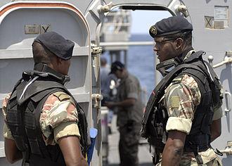 Cape Verde - Marines of the Cape Verdean Coast Guard
