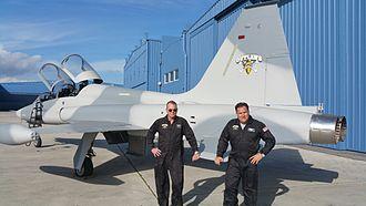 AeroGroup - Mark Daniels and Victor Miller F-5 aircraft