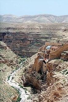 Η Μεγάλη Λαύρα Σάββα του Ηγιασμένου της Δυτικής Όχθης, Παλαιστίνη