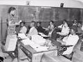 Marshall, Harrison County, Texas. Education. Literacy class at Park School. Night class. - NARA - 518268.tif