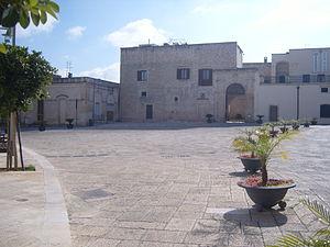 Martignano - Piazza Palmieri at Martignano
