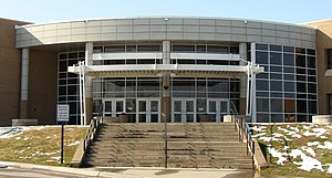 Martin High School (Arlington, Texas) - Image: Martin High School 3971