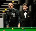 Martin Gould and Thorsten Müller at Snooker German Masters (DerHexer) 2015-02-04 06.jpg