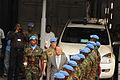 Martin Kobler, new SRSG in the D.R. Congo, arrives at MONUSCO HQ in Kinshasa to assume his duties, 13 August 2013. (9501218967).jpg