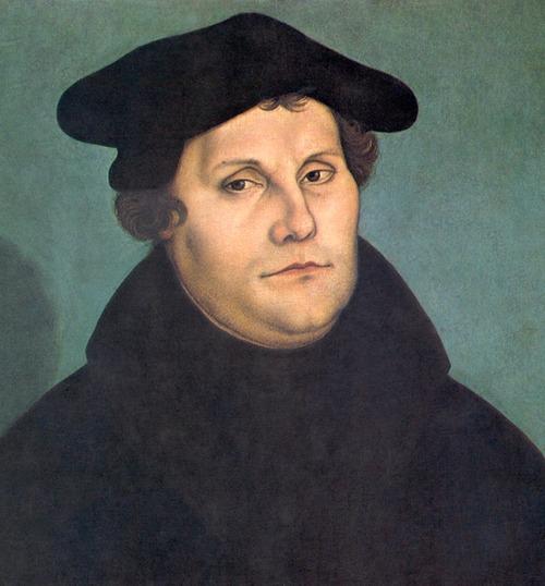 Martin luther by cranach restoration