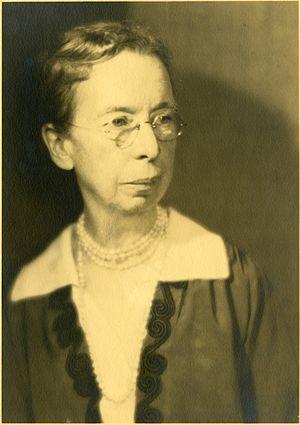 Mary J. Rathbun - Rathbun in 1927