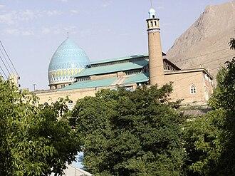 Damavand, Iran - The 15th century Jame mosque of Damavand.