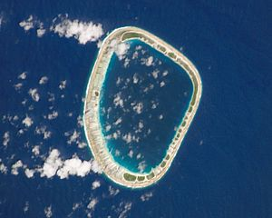 Matureivavao - NASA picture of Matureivavao Atoll