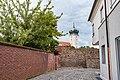 Mauergasse, Mauer des Schlossbezirks, von Süden Delitzsch 20180813 001.jpg