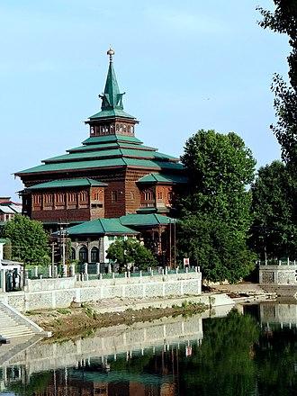 Khanqah-e-Moula - The Khanqah on the banks of Jhelum