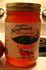 Mayhaw jelly jar us state food crop.jpg