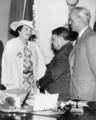 Mayor Fiorello H. La Guardia and Detective Mary Shanley circa 1940-1945.png