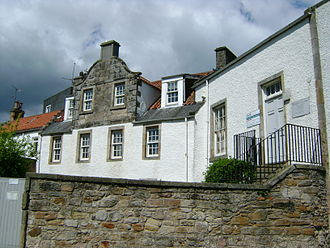 John McDouall Stuart - Birthplace of Stuart in Dysart, Scotland