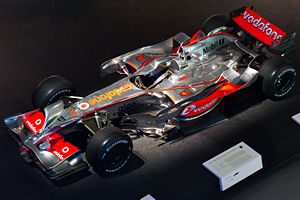 McLaren MP4-23 top Mercedes-Benz Museum.jpg