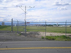 Yakima Air Terminal - Photograph of McAllister Field in Yakima taken from the east on June 2006