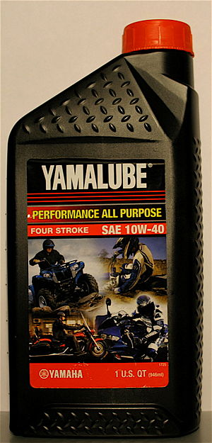 Motorcycle specific oil(YAMAHA YAMALUBE 4strok...