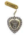 Medaljong med Gustav IIIs krönta namnchiffer, 1772 - Hallwylska museet - 98896.tif