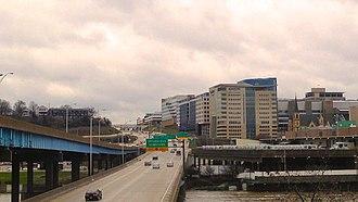 Interstate 196 - Image: Medical Mile April 2013