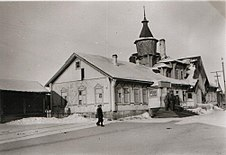 Medvezhyegorsk train station 1941-1944 1.jpg