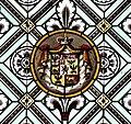 Mehrerau Collegiumskapelle Fenster R02c Wappen Auersperg.jpg