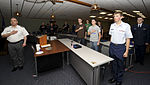 Members of the Civil Air Patrol Rushmore Composite Squadron, South Dakota Wing stand and recite the Pledge of Allegiance.jpg