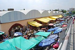 Mercado de Sonora Market in the historic center of Mexico City