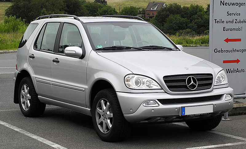 file mercedes benz ml 270 cdi w 163 facelift frontansicht 20 juni 2011. Black Bedroom Furniture Sets. Home Design Ideas