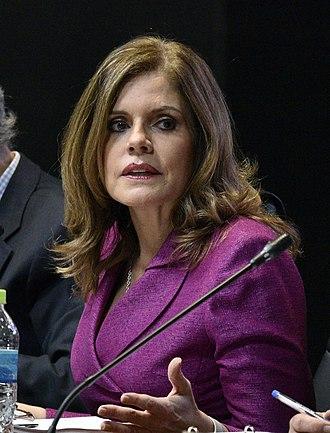 Vice President of Peru - Image: Mercedes Araoz